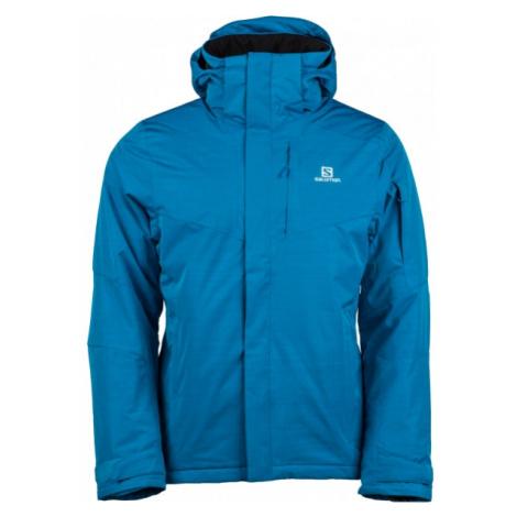 Salomon STORMSPOTTER JKT M blue - Men's winter jacket