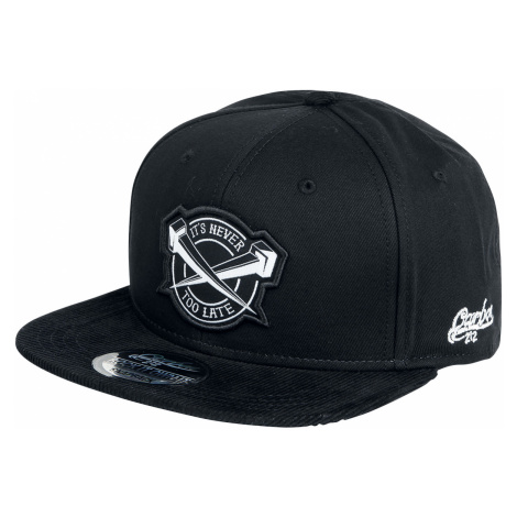 Carbon 212 - Never too Late - Snapback Cap - black