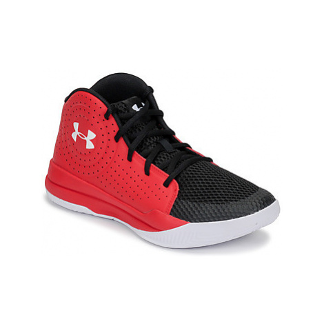Under Armour GS JET 2019 girls's Children's Basketball Trainers (Shoes) in Red