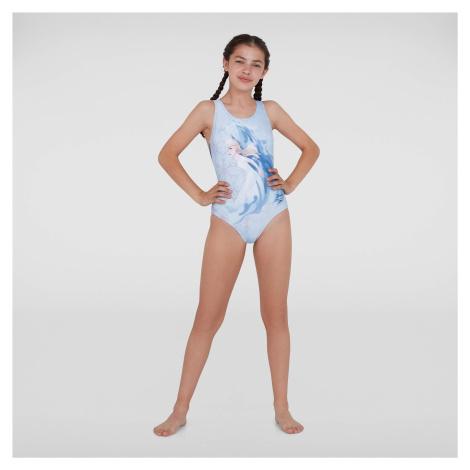Junior Disney Frozen 2 Elsa Splashback Swimsuit Speedo