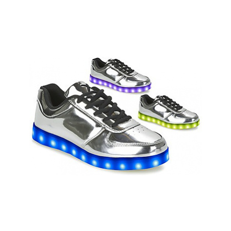 Wize Ope THE LIGHT women's Shoes (Trainers) in Silver Wize & Ope