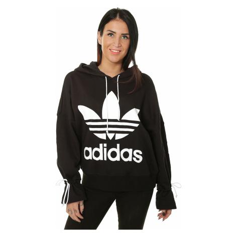 sweatshirt adidas Originals Hoodie 19/20 - Black - women´s