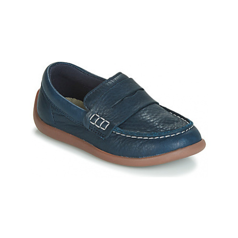Clarks ArtistStride T girls's Children's Loafers / Casual Shoes in Blue