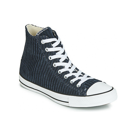 Converse CHUCK TAYLOR ALL STAR WIDE WALE CORD HI women's Shoes (High-top Trainers) in Black
