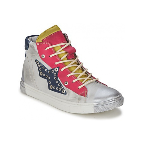 Hip 31LE/84LE/46LE girls's Children's Shoes (High-top Trainers) in Grey