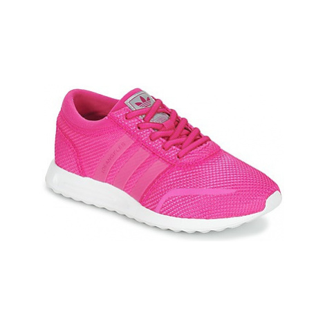 Adidas LOS ANGELES J girls's Children's Shoes (Trainers) in Pink