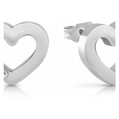 Ladies Guess Jewellery Unchain My Heart Earrings UBE78057
