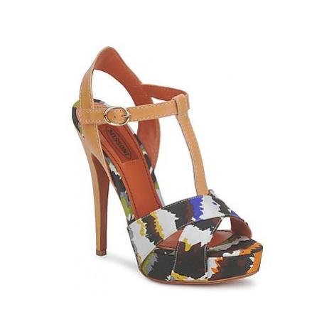 Missoni TM69 women's Sandals in Multicolour