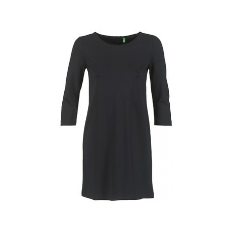 Benetton SAVONI women's Dress in Black United Colors of Benetton