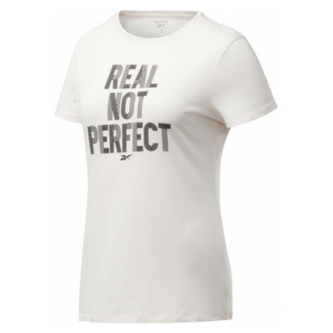 Reebok TE GRAPHIC TEE REAL light pink - Women's T-shirt