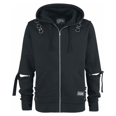 Vixxsin - Rhain Hood - Hooded zip - black