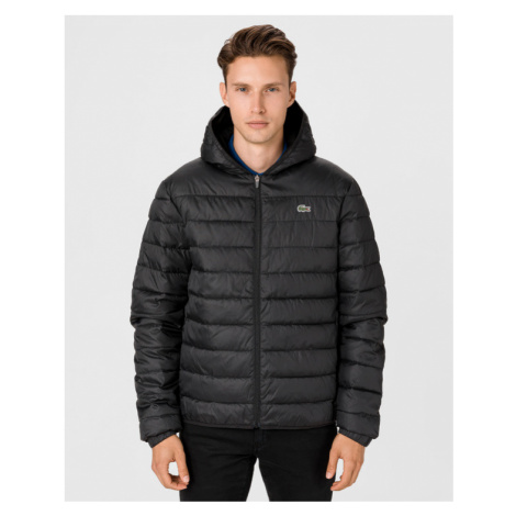 Lacoste Sport Water-Resistant Quilted Jacket Black