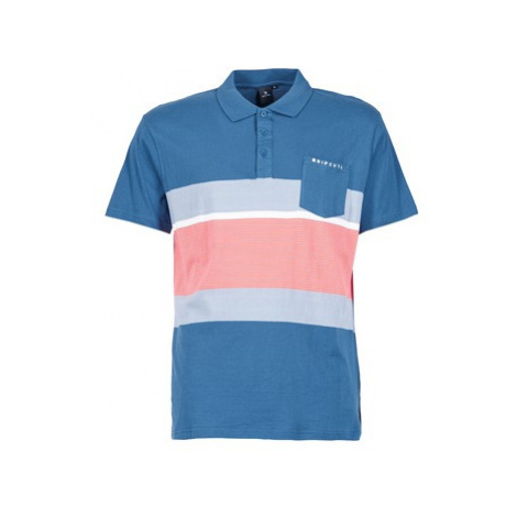 Rip Curl RAPTURE men's Polo shirt in Blue