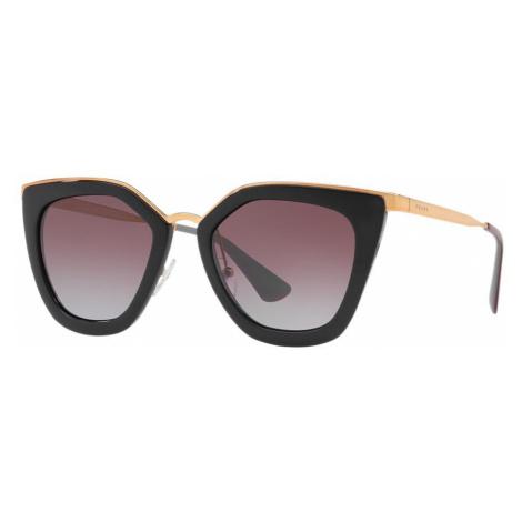 Prada Woman PR 53SS - Frame color: Black, Lens color: Violet, Size 52-21/140