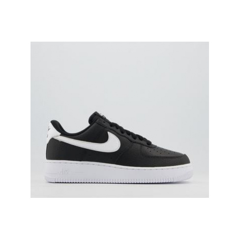 Nike Air Force 1 07 Trainers BLACK WHITE BLACK WHITE