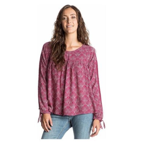 shirt Roxy Little Blast LS - RPN6/In The Breeze Scarlet