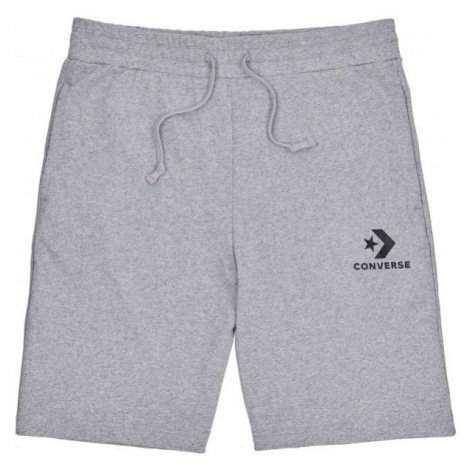 Converse STAR CHEVRON KNIT SHORT grey - Men's shorts