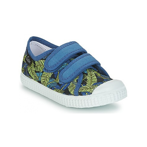 Aster MICKY boys's Children's Shoes (Trainers) in Blue