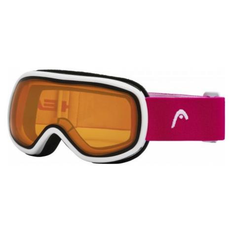 Head NINJA pink - Children's downhill ski goggles