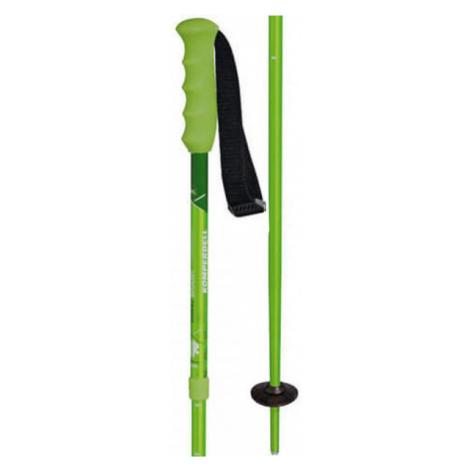 Komperdell SMASH green - Children's downhill ski poles