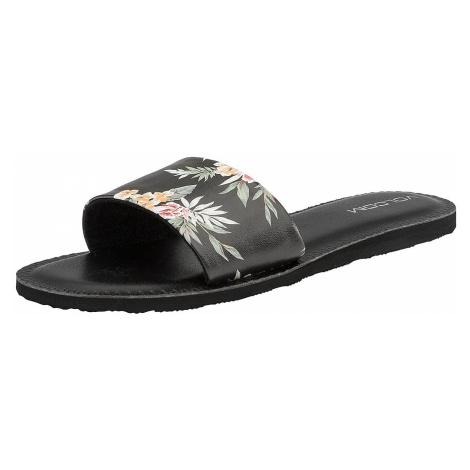 shoes Volcom Simple Slide - Black Combo - women´s