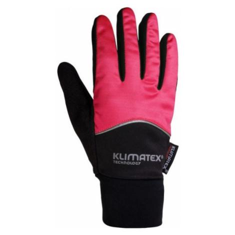 Klimatex DIOGO black - Softshell gloves