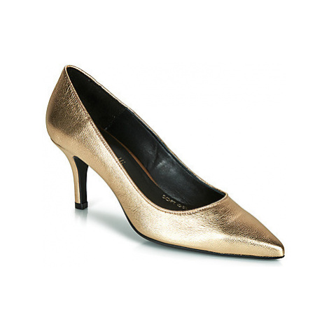Fericelli LUCINDA women's Court Shoes in Gold