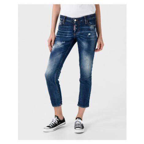 DSQUARED2 Jennifer Cropped Jeans Blue Dsquared²
