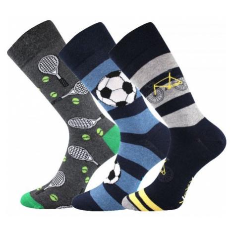 Voxx S-BOX MEN'S 3-PACK grey - Men's socks