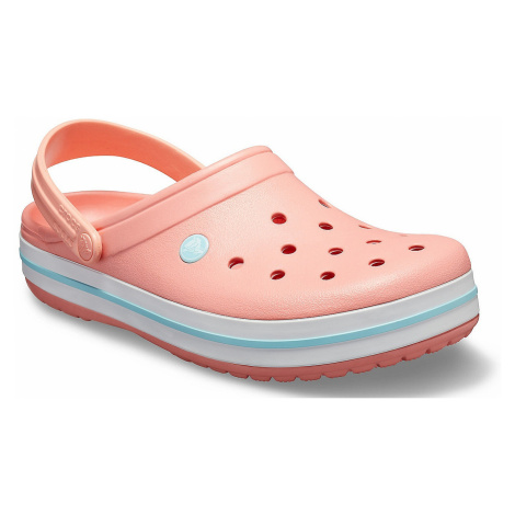 shoes Crocs Crocband Clog - Melon/Ice Blue - unisex junior