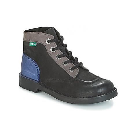 Kickers KICK COL women's Mid Boots in Black