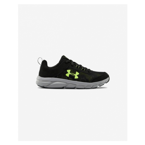 Under Armour Grade School Assert 8 Kids Sneakers Black