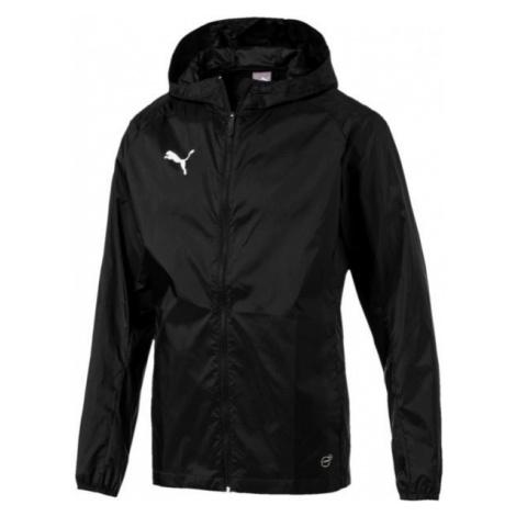 Puma LIGA TRG RAIN JKT CORE JR black - Kids' jacket