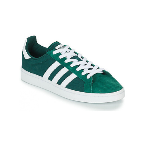 Adidas CAMPUS women's Shoes (Trainers) in Green