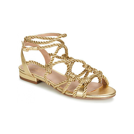 KG by Kurt Geiger NOTTY FLAT women's Sandals in Gold KG Kurt Geiger
