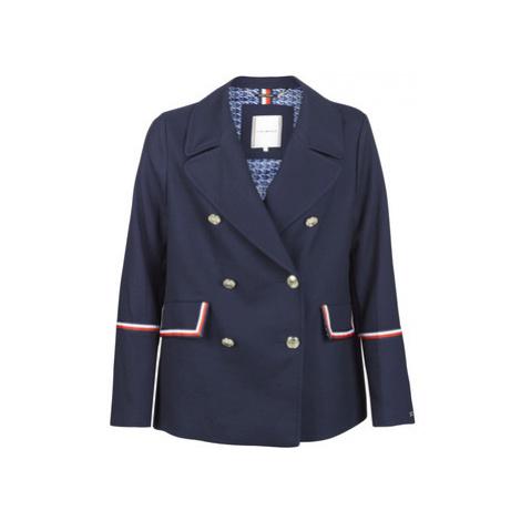 Tommy Hilfiger MADISON PEACOAT women's Coat in Blue