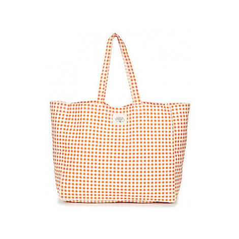 Le Temps des Cerises DAILY women's Shopper bag in Orange