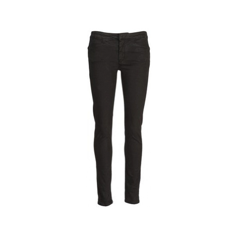 Acquaverde JOE women's Skinny Jeans in Black