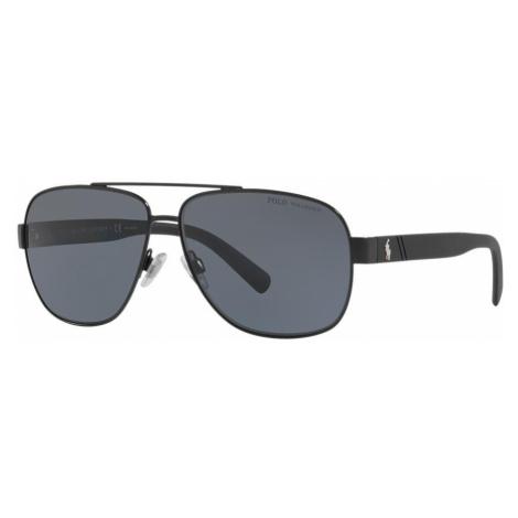 Polo Ralph Lauren Man PH3110 - Frame color: Black, Lens color: Grey-Black, Size 60-12/145