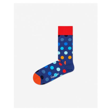 Blue men's crew socks