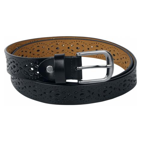 Fashion Victim - Faux Leather Belt - Belts - black