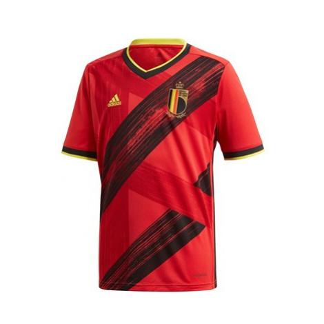 Belgium Home Shirt 2019-21 - Kids Adidas