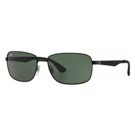 Ray-Ban Rb3529 Man Sunglasses Lenses: Green, Frame: Black - RB3529 006/71 61-17