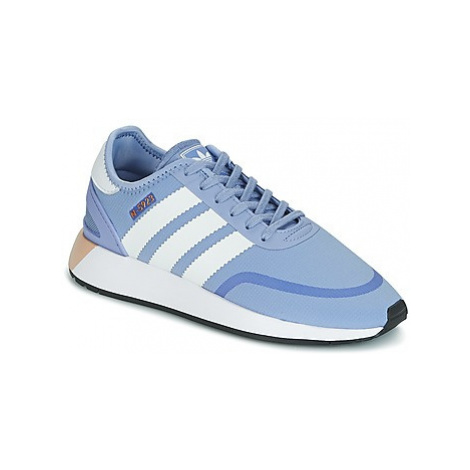 Adidas INIKI RUNNER CLS W women's Shoes (Trainers) in Blue
