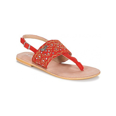 Kaporal MOST women's Sandals in Red