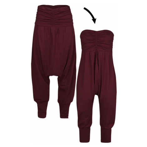 RED by EMP - Jump In And Relax - Girls trousers - burgundy