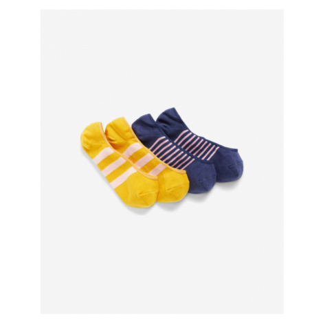 GAP Set of 2 pairs of socks Blue Yellow