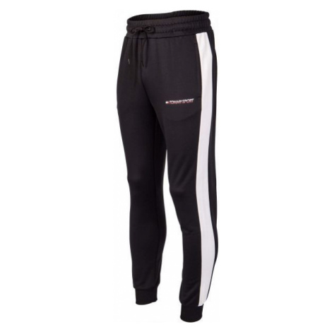 Tommy Hilfiger TRACK PANT LOGO black - Men's trousers