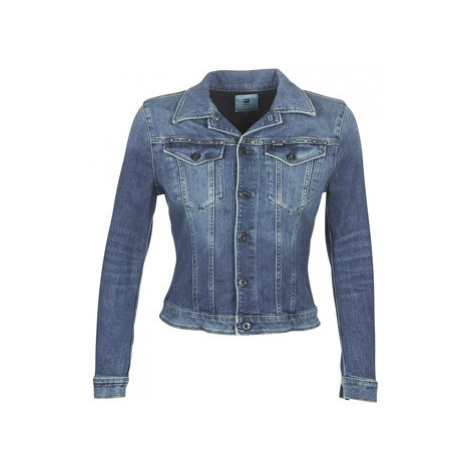 G-Star Raw 3301 STUDS SLIM JACKET women's Denim jacket in Blue