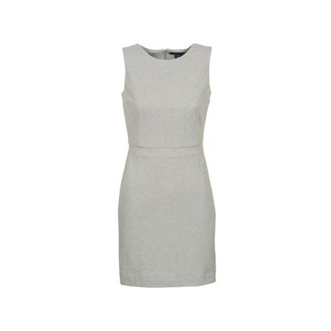 Gant L. JERSEY PIQUE women's Dress in Grey